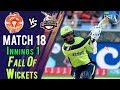 watch Lahore Qalandars Fall Of Wickets | Lahore Qalandars Vs Islamabad United |Match 18|8 Mar|HBL PSL 2018