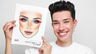 DRAWING MYSELF... WITH MAKEUP!