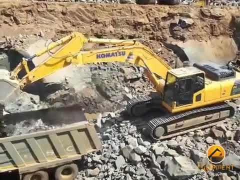 Komatsu : Model PC300LC-8M0 | Hydraulic Excavators | Equipment Rentals India