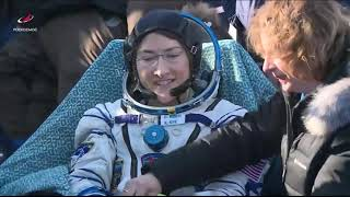 NASA Television Video File- MS 13 Hatch Closing Undocking Landing - February 6, 2020