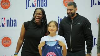 Церемония драфта Jr.NBA