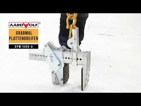 Grabmal - Plattengreifer (Automatik)