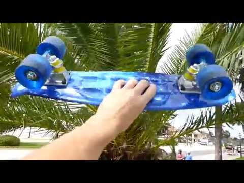 Review: Rimable Mini Cruiser Skateboard VS Penny Board?