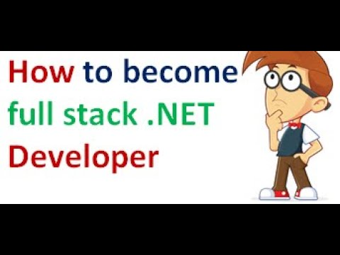 How to become full stack .net Developer