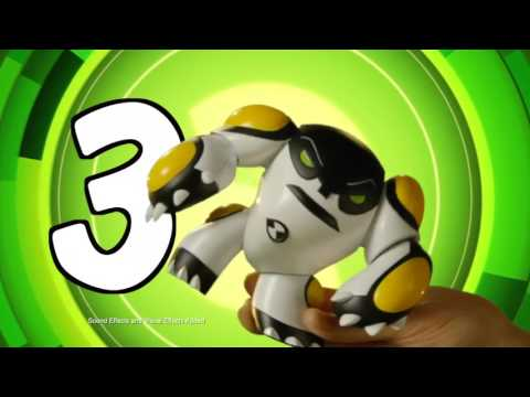 Фигурка Power up Four Arms BEN10, 76603