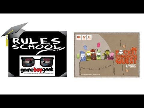How to Play Pocket Dungeon Quest (Rules School) with the Game Boy Geek