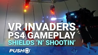 VR Invaders Complete Edition PS4: Shields