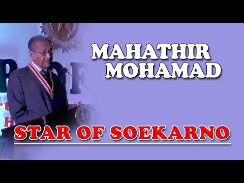 Star of Soekarno, Speech by Mahathir Mohamad