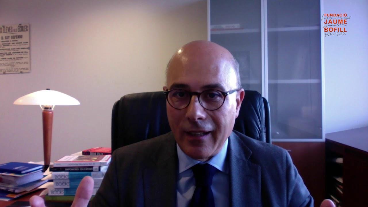 Francesc Pedró: apostes educatives en un escenari de recuperació econòmica