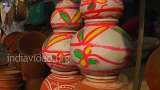 Shopping of Terracotta artifacts, Ajmer