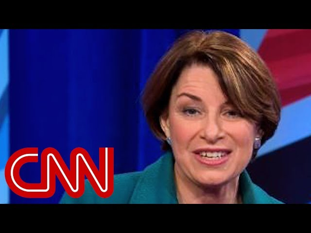 This Is The Question Amy Klobuchar Says She D Ask Trump