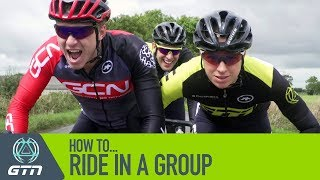 Group Riding Etiquette For Triathletes | How To Ride In A Group