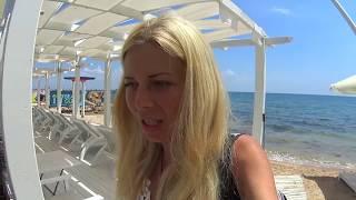 Такого НИКТО не ОЖИДАЛ! ТАНЦЫ на пляже. ЖАРКИЙ СЕЗОН. Пляж. Цены в Крыму. Отдых 2018 МОРЕ
