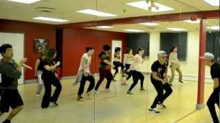 BDX Class.  Choreography by Dustin Pym. Rubbin - Choclair