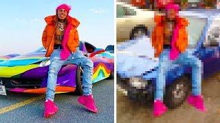 I Made Rappers Look Broke In Photoshop (6IX9INE, 21 Savage, Lil Pump)