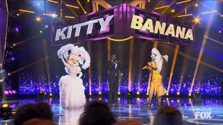 Masked Singer   Kitty and Frog Smack Down performances