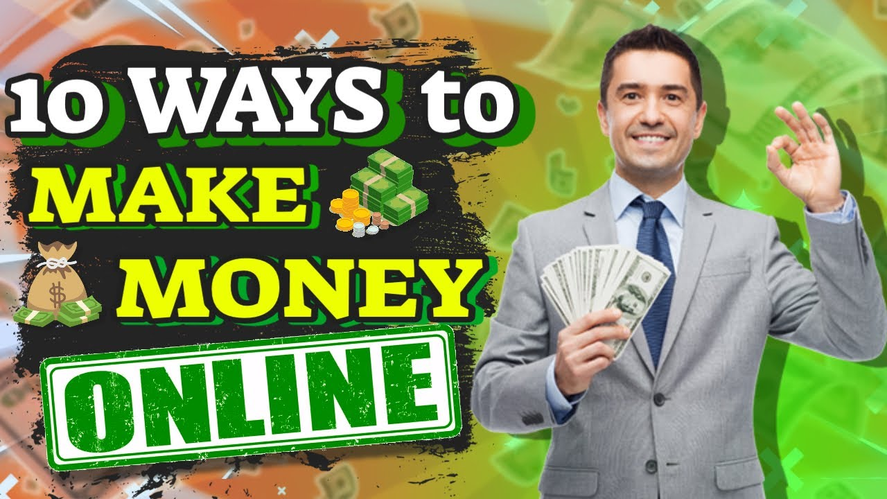 10 Ways To Generate Income Online - How To Generate Income (2021) thumbnail