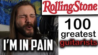 100 Greatest Guitarists (Rolling Stone) | Mike The Music Snob