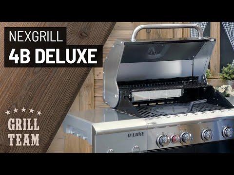 Nexgrill 4B Deluxe | Gasgrill-Grillstation mit Backburner und Seitenkocher | Vorstellung & Test