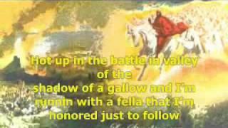 Dominic Balli-Warrior (lyrics)