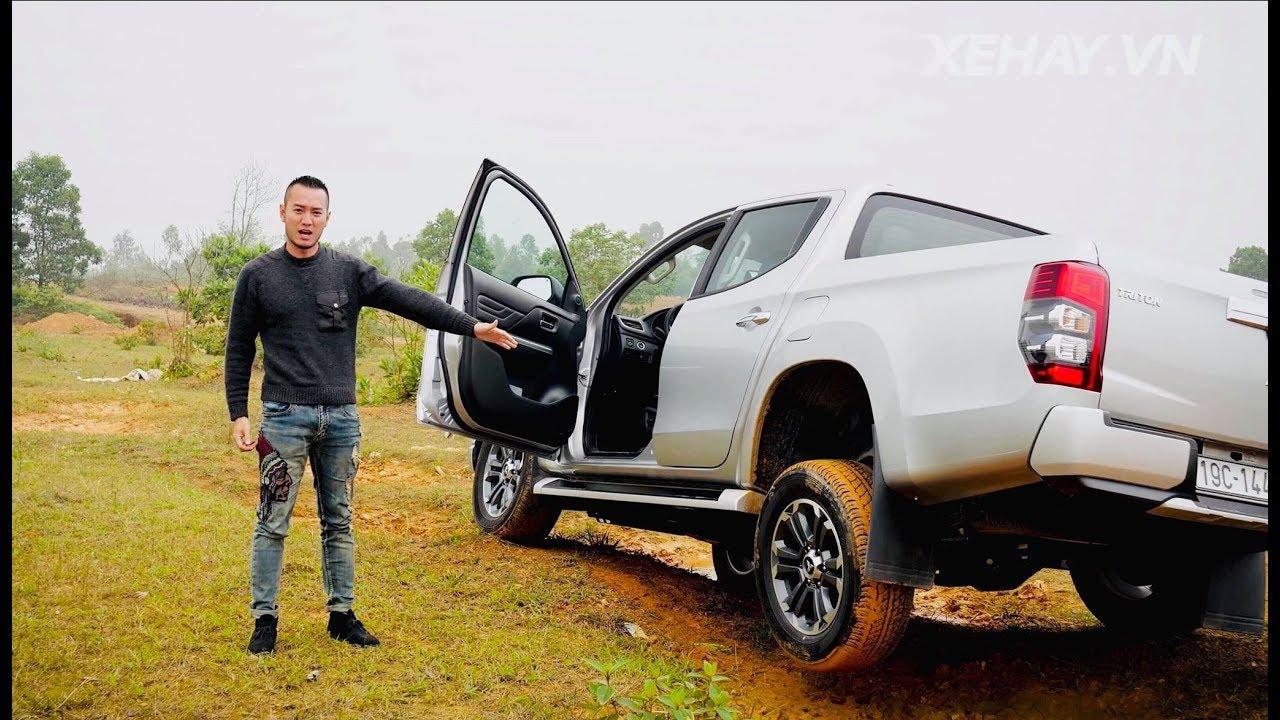 Đem bán tải Mitsubishi Triton 2019