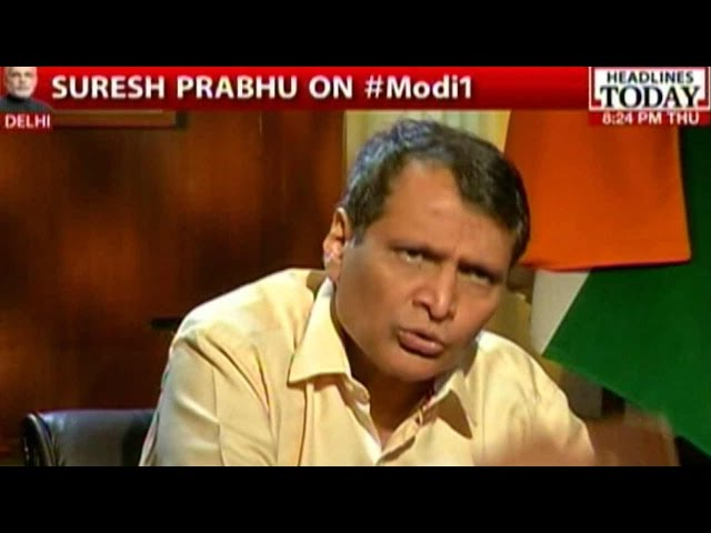 Suresh Prabhu On Challenges Modi Govt Faces