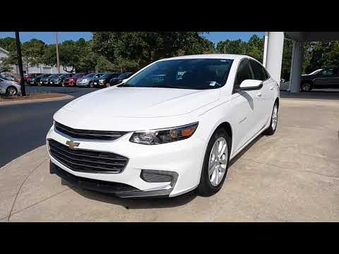 Certified Pre-Owned 2017 Chevrolet Malibu 4dr Sdn LT w/1LT