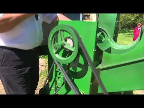 Desgranadora de maíz para el pequeño productor