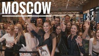 Влог Москва. Благотворительность с Dreamo. Встреча в Золотом Яблоке с подписчиками