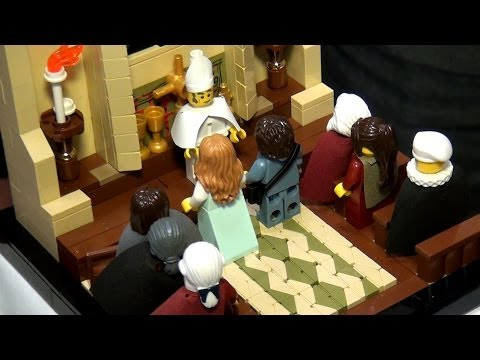 LEGO The Princess Bride scenes - Brickworld Chicago 2014