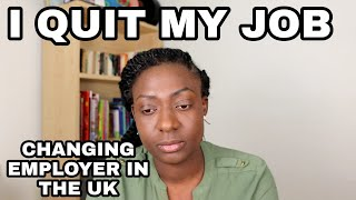 WHY AND HOW I QUIT MY NURSING JOB IN THE UK