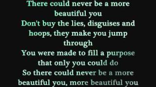 More Beautiful You Jonny Diaz Lyrics