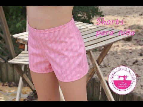 Cómo hacer unos shorts o pantalones cortos