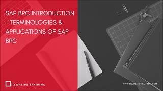 SAP BPC Tutorial - Terminologies & Applications of SAP BPC