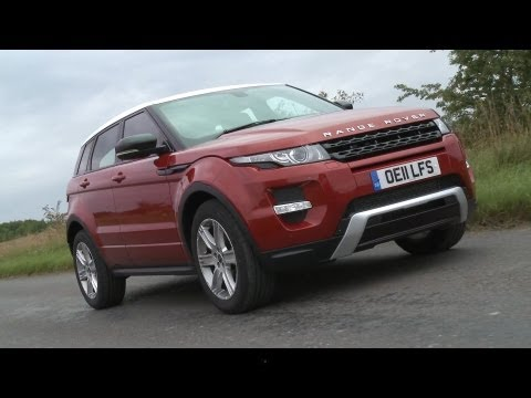 Range Rover Evoque First Review