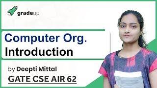 Computer Organization GATE Lectures | Basics, Weightage Analysis, Book, Syllabus | GATE 2019 CSE