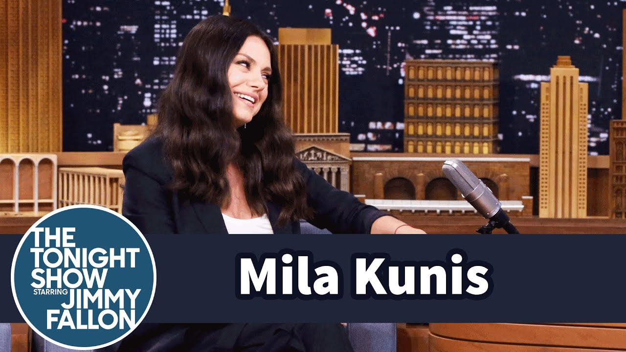 Mila Kunis' Kid Can Tell a Beer Belly from a Baby Belly thumbnail