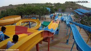 Fun Racer High Thrill Ride || Escape Water Park