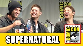 Миша Коллинз, Supernatural Comic Con Panel - Jensen Ackles, Jared Padalecki, Misha Collins, Mark A. Sheppard