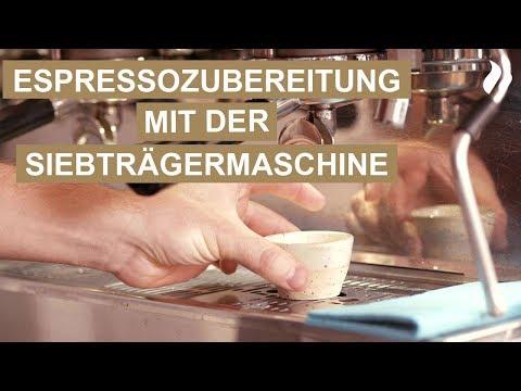 Italienischer Espresso - Kaffeezubereitung mit der Siebträgermaschine | roastmarket