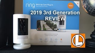 Ring Stick Up Cam 2019 3rd Gen Review - Unboxing, Differences, Video and Audio Quality