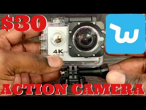 $30 4K Action Camera Wish.com VS GoPro Hero 5 UnBoxing