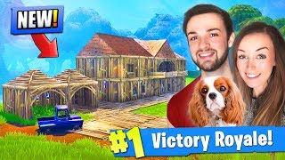 Building Ali-A's *NEW* HOUSE in Fortnite: Battle Royale! - Video Youtube