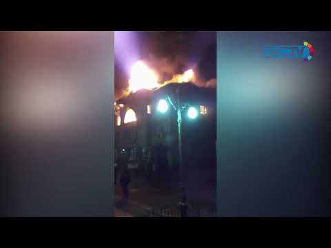 R&B, PWD offices in Rajbagh damaged in blaze