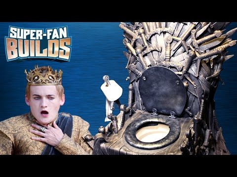 Game of Thrones - Iron Throne Toilet