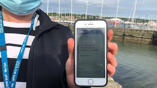 video: Coronavirus contact tracing app downloaded by just 40 per cent in Isle of Wight trial