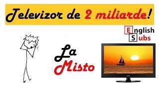 TELEVIZOR DE 2 MILIARDE IN ROMANIA! 53.000 euro TV in Romania