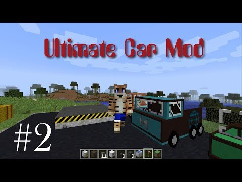Ultimate Car Mod Showcase #2 - Crafting Cars (Minecraft 1.12.2)