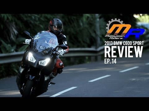 2013 BMW C600 Sport Review -- Ep.14