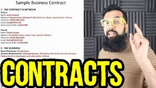 How To Write A Business Contract In Urdu Free Online Videos Best